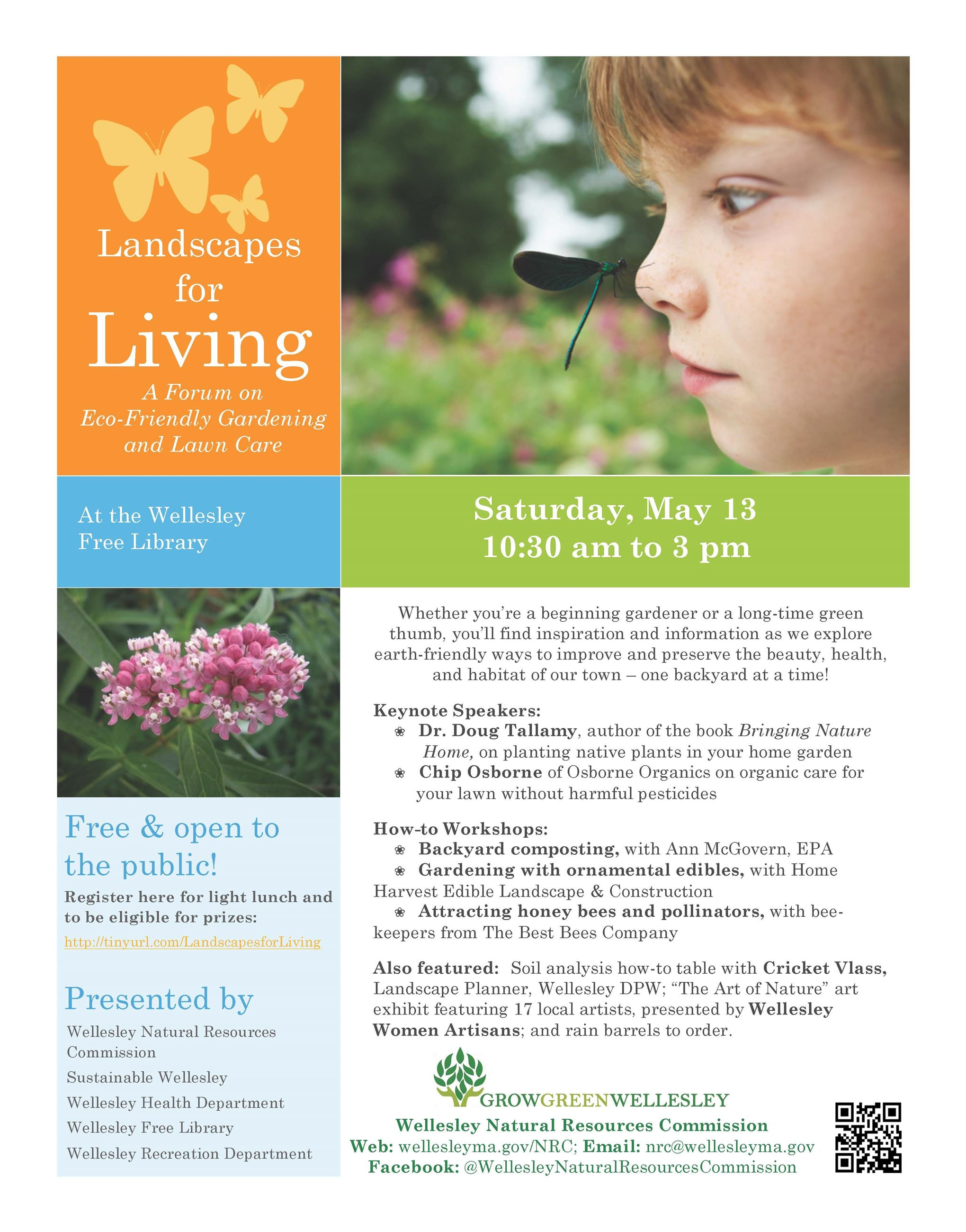Landscapes for Living Flyer May 13