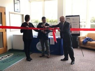 ribbon cutting - cut