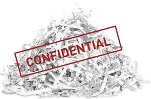 Picture of Paper-shred-confidential-stamp