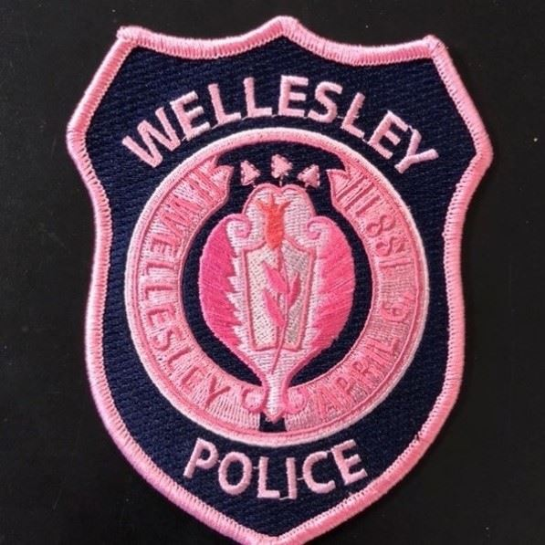 Wellesley Police Pink Patch
