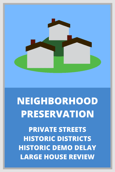 Neighborhood Preservation