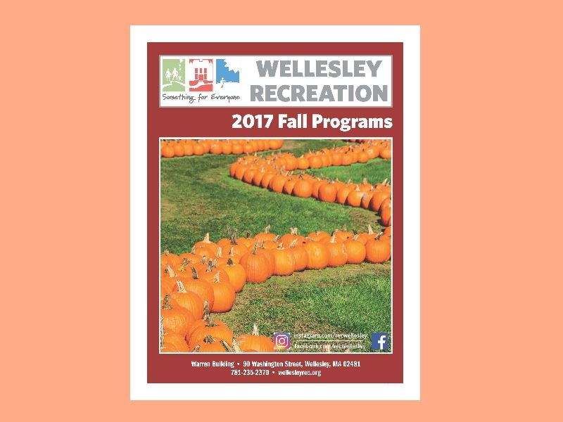 Fall Brochure with background