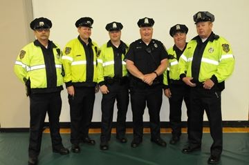 Group of Special Police Officers