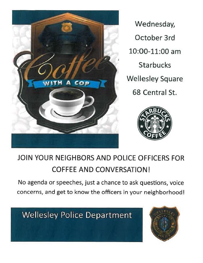 Coffee with a Cop Oct 2018
