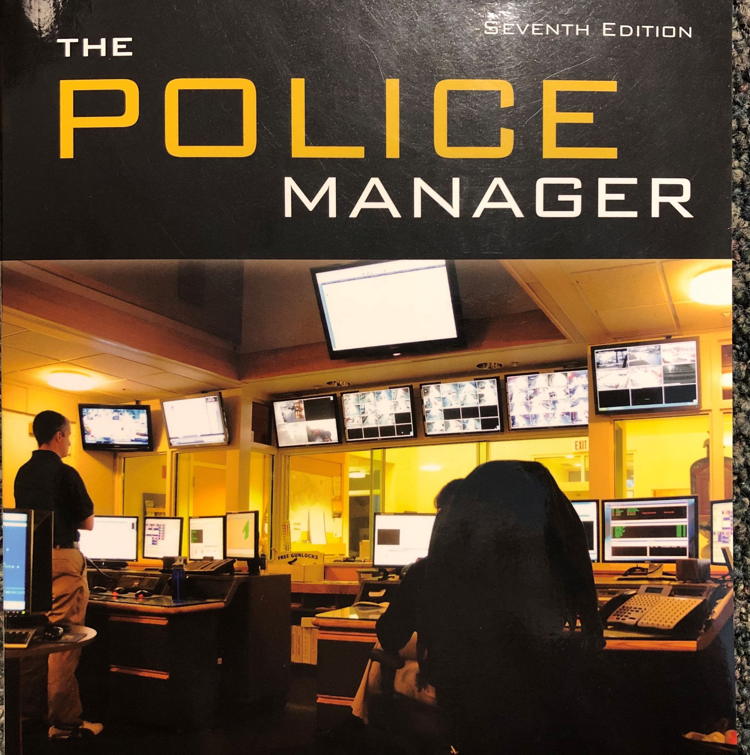 Wellesley Dispatchers on the front cover of Police Manager